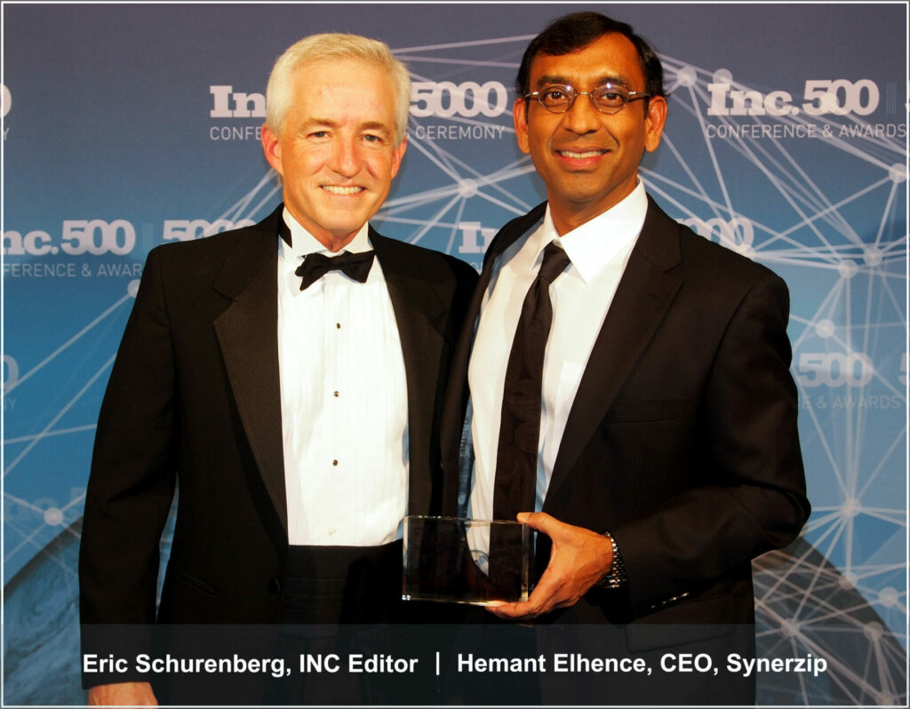Hemant Elhence with Inc 500