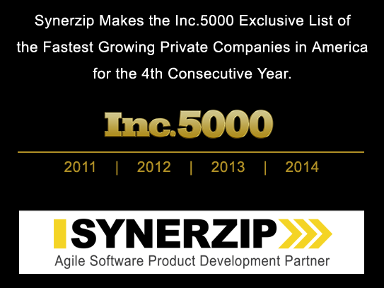 Synerzip on the Inc.5000