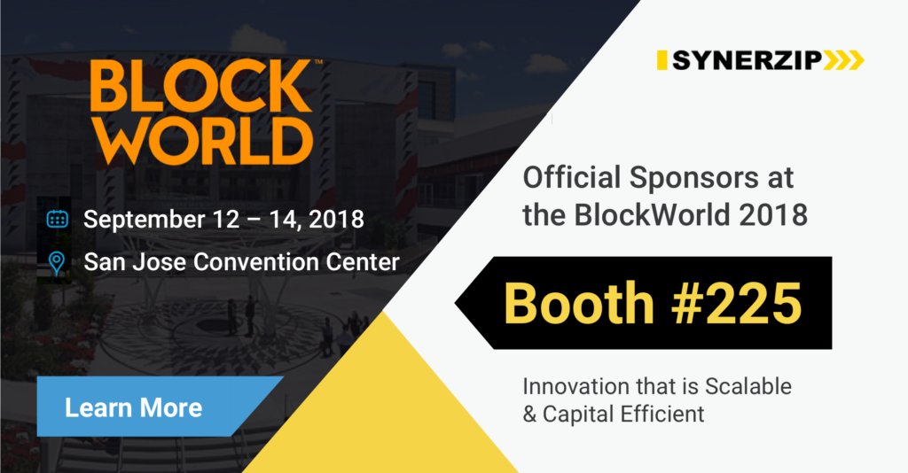 BlockWorld 2018 Banner