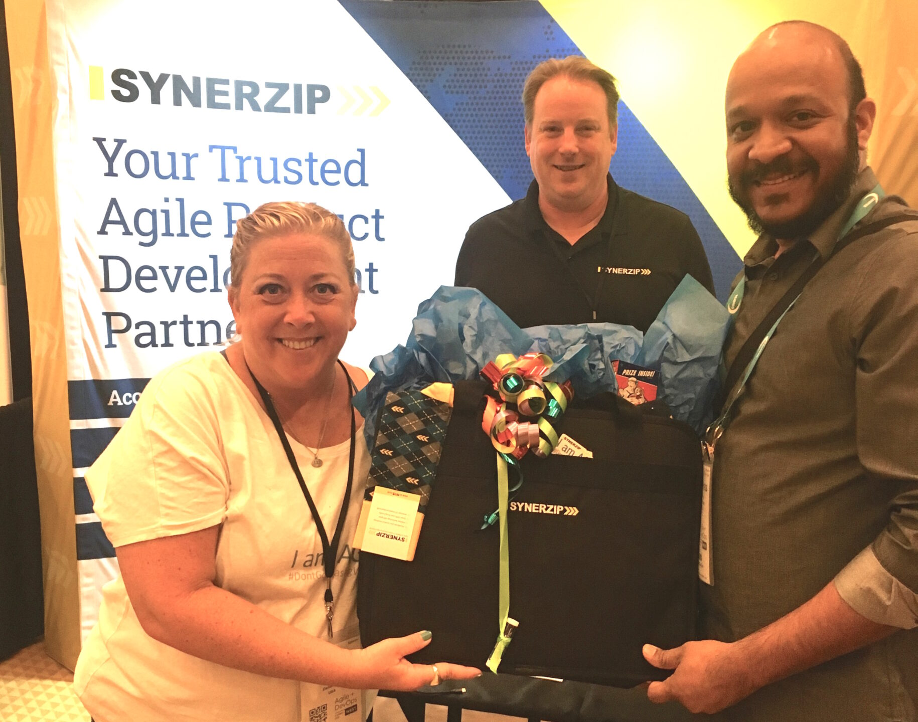 Synerzip Team at Techwell's Agile + DevOps West Post Conference 2019